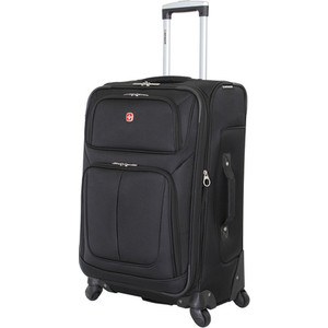 Чемодан Wenger Sion, черный, 41x26x70 см, 56 л, шт цена и фото
