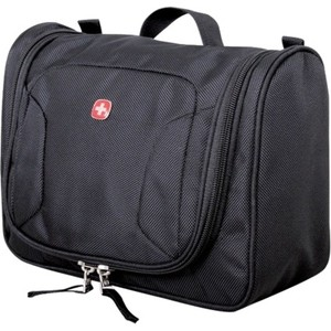 Несессер Wenger Toiletry Kit, черный, 27х11х22 см, 6 л, шт
