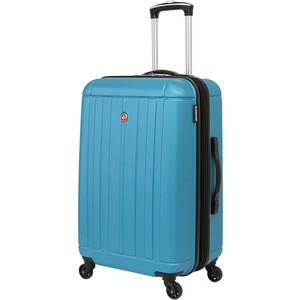Чемодан Wenger Uster, голубой, 41x26x58 см, 62 л, шт