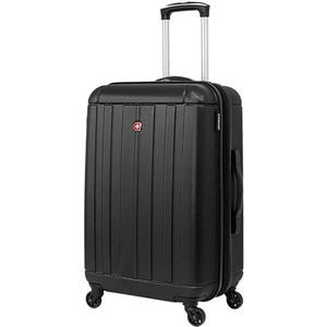 Чемодан Wenger Uster, черный, 41x26x59 см, 63 л, шт цена