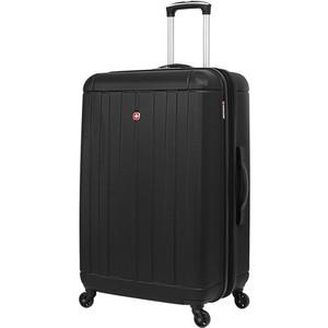 Чемодан Wenger Uster, черный, 48x30x69 см, 99 л, шт цена и фото