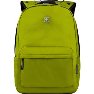 Рюкзак городской Wenger 14'', с водоотталкивающим покрытием, салатовый, 28x22x41 см, 18 л, шт рюкзак городской wenger 34 л зеленый камуфляж 37х19х48 см