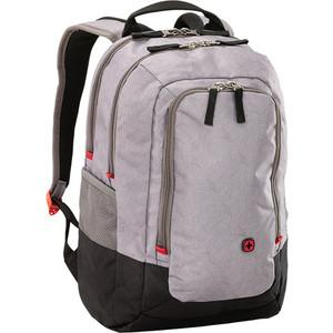 Рюкзак городской Wenger 14'', серый, 29x24x43 см, 20 л, шт wenger wenger рюкзак для подростков 20 л чёрный красный