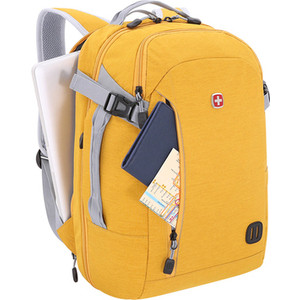 цена Рюкзак городской Wenger 15'', желтый, 31x20x47 см, 29 л, шт онлайн в 2017 году