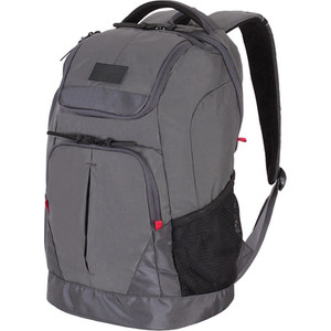 Рюкзак городской Wenger 15'', серый, 31x19x48 см, 28 л, шт цена и фото