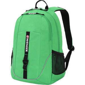 Рюкзак дорожный Wenger салатовый/черный, со светоотражающими элементами, 33x17x46 см, 26л, шт wenger wenger рюкзак для подростков универсальный 26л серый