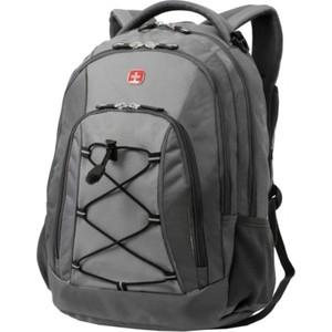 лучшая цена Рюкзак дорожный Wenger темно-серый/светло-серый, 33х19х45 см 28 л, шт