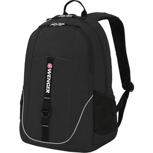Фото - Рюкзак дорожный Wenger черный, со светоотражающими элементами, 33x16,5x46 см, 26 л, шт рюкзак светоотражающие материалы wenger универсальный 26 л черный