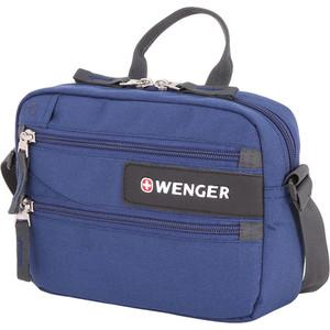 Сумка для документов Wenger синяя, 23x5x18 см, шт цена и фото