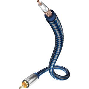 лучшая цена Кабель межблочный Inakustik Premium Mono Sub Cable, 5.0 m, 00408051
