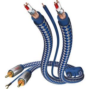 Кабель межблочный Inakustik Premium Phono Cable, RCA-RCA, 0.75 m, 00405107