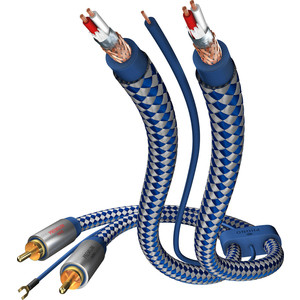 Кабель межблочный Inakustik Premium Phono Cable, RCA-RCA, 1.5 m, 00405115