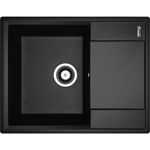Кухонная мойка Flortek Консул 640 антрацит (23.020.C0640.302)