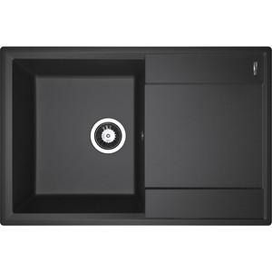 Кухонная мойка Flortek Консул 760 черный (23.020.C0760.102)
