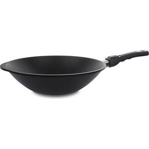 Сковорода-вок d 32 см AMT Gastroguss Frying Pans (AMT1132S) сотейник d 28 см amt gastroguss frying pans titan induction amt i 828
