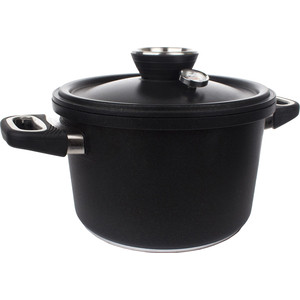 Пароварка 4.5 л AMT Gastroguss Frying Pans (AMT1424-SET) утятница с крышкой 33х21 см 5 5 л amt frying pans арт amt 3321