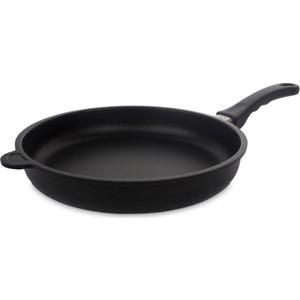 Сковорода d 28 см AMT Gastroguss Frying Pans Fix (AMT528FIX) крышка квадратная 28 см amt gastroguss glass lids amte28