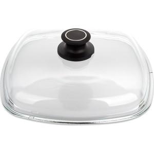 Крышка квадратная 26 см AMT Gastroguss Glass Lids (AMTE26) крышка квадратная 26 см amt gastroguss glass lids amte26