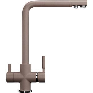 Смеситель для кухни Ulgran U-016 с подключением к фильтру, песочный (U-016-302)