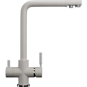 Смеситель для кухни с подключением к фильтру питьевой водой Ulgran U-016 белый (U-016-331)