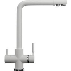 Смеситель для кухни Ulgran U-016 с подключением к фильтру, молочный (U-016-341)