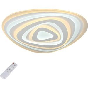 Потолочный светодиодный светильник с пультом Omnilux OML-05807-120 потолочный светодиодный светильник с пультом ду omnilux orion oml 43107 60