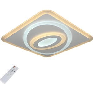 Потолочный светодиодный светильник с пультом Omnilux OML-06007-80