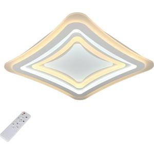 Потолочный светодиодный светильник с пультом Omnilux OML-05007-90 потолочный светодиодный светильник с пультом ду omnilux orion oml 43107 60