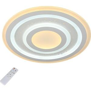 Потолочный светодиодный светильник с пультом Omnilux OML-05907-80 omnilux потолочный светильник omnilux ice crystal oml 47217 80