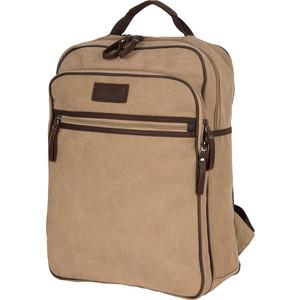 Рюкзак дорожный Polar П1288-13 бежевый брезент