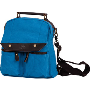 Рюкзак дорожный Polar П1449-04 синий брезент