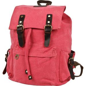 Рюкзак городской Polar П3062-01 красный брезент рюкзак городской polar п3062 13 бежевый брезент