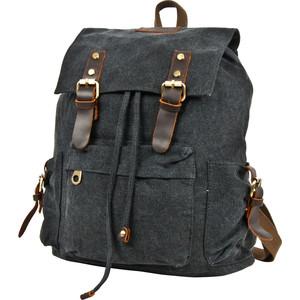 Рюкзак городской Polar П3062-05 черный брезент