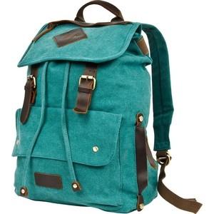 Рюкзак городской Polar П3063-09 зеленый брезент
