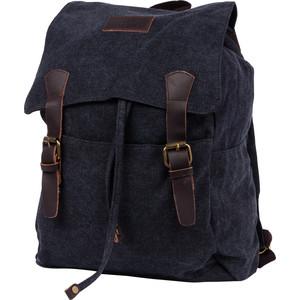 Рюкзак дорожный Polar П3302-05 черный брезент
