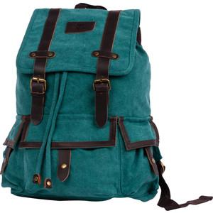 Рюкзак дорожный Polar П3303-09 зеленый брезент