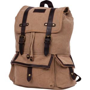 Рюкзак дорожный Polar П3303-13 бежевый брезент