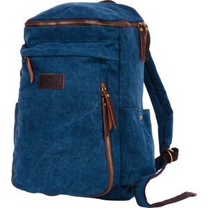 Рюкзак дорожный Polar П3392-04 синий брезент