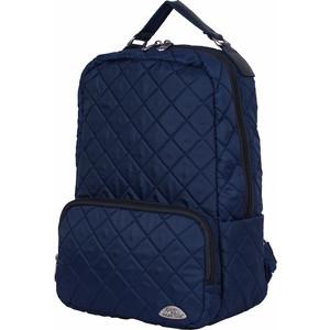 Рюкзак городской Polar П7070-04 синий из стежки
