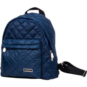 Рюкзак городской Polar П7074-04 синий большой из стежки цена и фото