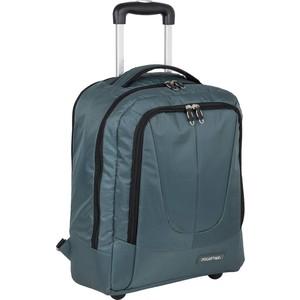 Рюкзак дорожный Polar П7102 серый с телегой на колесах