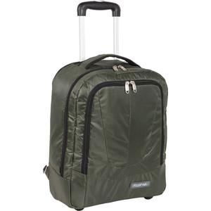 Рюкзак дорожный Polar П7102 хаки с телегой на колесах