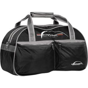Сумка спортивная Polar П05/6 черно/серый (серая стропа) Скайлайн сумка спортивная polar п05 6 черно серый серая стропа скайлайн