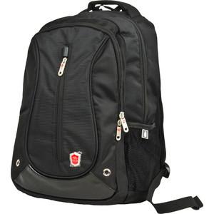 Рюкзак для ноутбука Polar 3039 черный с отдел.д/ноутбука