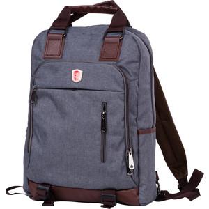 Рюкзак-сумка Polar 541-7 т.серый