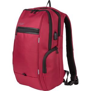 Рюкзак дорожный Polar К3140 Red USB для ноутбука + потайное отделение на спинке