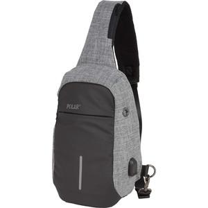 Рюкзак городской Polar П0075-06 Grey рюкзак городской polar п0075 05 black