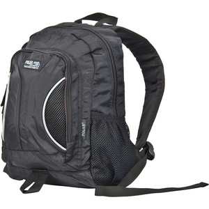 Рюкзак дорожный Polar П1297-05 черный саквояж дорожный polar цвет черный коричневый 52 5 л 7004 05