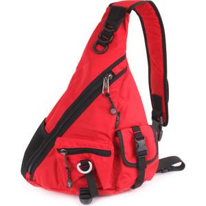 Рюкзак дорожный Polar П1378-01 красный однолямочный