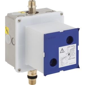 Блок управления смывом Geberit с механизмом, для приводов смыва писсуара HyTouch/HyTronic (116.004.00.1) geberit impulsbasic330 впускной клапан 1 2 подвод воды сбоку запасной 136 724 00 1